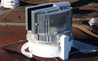 Tο ιαπωνικό τηλεσκόπιο Subaru.