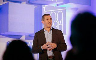 Ο διευθυντής  εταιρικών σχέσεων της Google, Δ. Κολοκοτσάς.