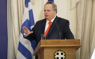 Ο Ελληνας υπουργός Εξωτερικών Ν. Κοτζιάς είχε επιλέξει να δοθεί ένα μικρό περιθώριο για την επίσημη απάντηση ή κάποια άλλη αντίδραση από την πλευρά της Τσεχίας, πριν προβεί στη χθεσινή κίνηση.