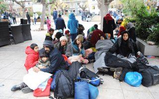 Πολλοί από τους πρόσφυγες και μετανάστες που βρίσκονταν χθες στην πλατεία Βικτωρίας ισχυρίζονταν ότι έχουν βγάλει εισιτήρια για να φύγουν από την Ελλάδα.