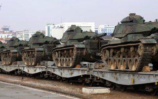 Η μεταφορά 25 τουρκικών αρμάτων μάχης και εκατοντάδων στρατιωτών στην Μπασίκα του βορείου Ιράκ, το περασμένο Σαββατοκύριακο, άνοιξε νέο μέτωπο μεταξύ Τουρκίας - Ιράκ.