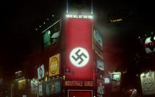 Η Τάιμς Σκουέρ της Νέας Υόρκης με τη... σβάστικα. Στο εφιαλτικό σύμπαν του Φίλιπ Ντικ, που τώρα μεταφέρεται και στην τηλεόραση, ο Β΄ Παγκόσμιος Πόλεμος έχει τελειώσει με την ήττα των Συμμάχων. Είναι όμως πράγματι έτσι;