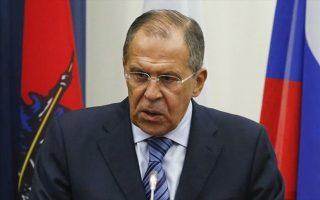Ο υπουργός εξωτερικών της Ρωσίας, Σεργκέι Λαβρόφ.