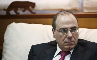 Then Israeli Energy Minister Silvan Shalom listens during an interview with Reuters at his office in Tel Aviv May 21, 2013. Shalom, a veteran politician in Prime Minister Benjamin Netanyahu's right-wing Likud party, resigned on December 20, 2015 following allegations that he had sexually harrassed several women during his career, state media reported.  REUTERS/Nir Elias