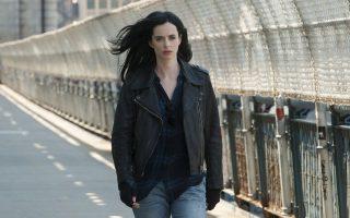 H ταλαντούχος Κ. Ρίτερ ως Jessica Jones στη νέα σειρά του Netflix.