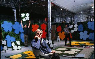 Από το 1962 ώς το 1968, το Factory, το ατελιέ του Γουόρχολ, ήταν προορισμός για κάθε λογής προσωπικότητες.