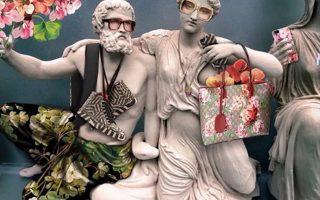 Τα λαμέ του οίκου Gucci σε μνημεία παγκόσμιας κληρονομιάς...