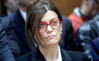 Η κ. Ουρανία Αντωνοπούλου.
