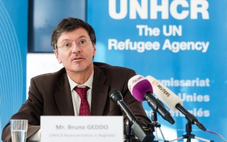 Τους δημοσιογράφους ενημέρωσε χθες σχετικά με την έκθεση του ΟΗΕ για το Ιράκ, στις Βρυξέλλες, ο εκπρόσωπος της UNHCR Μπρουνό Γκεντό.