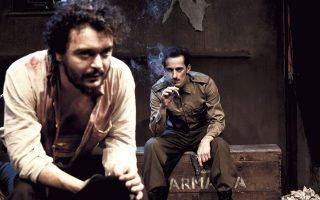 Γιάννης Τσεμπερλίδης και Σταύρος Ράγιας στη «Σκοτεινή πέτρα».