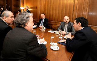 Ανυποχώρητοι εμφανίσθηκαν κατά τη χθεσινή τους συνάντηση με τον Αλ. Τσίπρα και τον Γ. Κατρούγκαλο οι πρόεδροι του ΤΕΕ, των Δικηγορικών Συλλόγων και του ΠΙΣ.