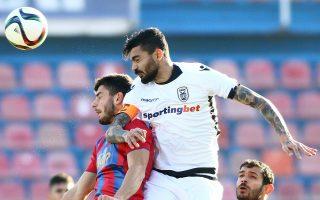 Ο ΠΑΟΚ με 1-1 στη Ν. Σμύρνη πήρε προβάδισμα πρόκρισης για τους ημιτελικούς του Κυπέλλου Ελλάδος.
