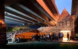 Μια αναπάντεχη χωρική αφήγηση, το Folly: η μετατροπή ενός παρατημένου χώρου κάτω από αυτοκινητόδρομο σε δημόσιο χώρο τέχνης στο Hackney.
