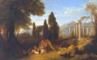 «Ονειρο»  (1827), έργο του Charles Eastlake, εμπνευσμένο από το ομώνυμο ποίημα του Λόρδου Βύρωνα. Απεικονίζει τον ποιητή να αναπαύεται.
