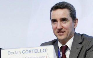 Ο κ. Ντέκλαν Κοστέλο είναι ο επικεφαλής της Κομισιόν