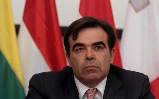 O Δημήτρης Σχοινάς, ο εκπρόσωπος της Επιτροπής, καλωσόρισε χθες την υιοθέτηση του Ενιαίου Μηχανισμού Εξυγίανσης των τραπεζών της Ευρωζώνης.