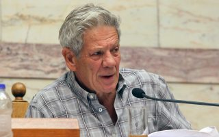 Ο βουλευτής του ΣΥΡΙΖΑ κ. Μάκης Μπαλαούρας.