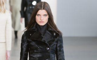 Pixelformula  Calvin Klein Womenswear  Winter 2015 - 2016 Ready To Wear  New York
