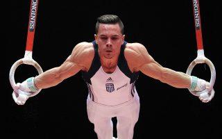 Ο Λευτέρης Πετρούνιας, ο «σπεσιαλίστας» των κρίκων, πρώτευσε στις 11 από τις 12 εμφανίσεις του σε διεθνείς αγώνες, με αποκορύφωμα τα χρυσά μετάλλια στο παγκόσμιο και στο ευρωπαϊκό πρωτάθλημα, αλλά και στους Ευρωπαϊκούς Αγώνες αθλημάτων του Μπακού.
