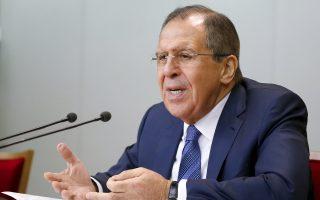 Ο υπουργός Εξωτερικών της Ρωσίας Σεργκέι Λαβρόφ.