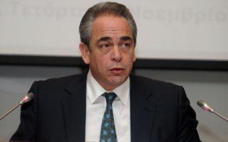 Ο πρόεδρος της Κεντρικής Ένωσης Επιμελητηρίων και του ΕΒΕΑ κ. Κωνσταντίνος Μίχαλος