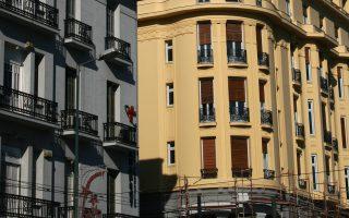 Το κτίριο του παλαιού ξενοδοχείου Ακροπόλ Παλάς στην Πατησίων.
