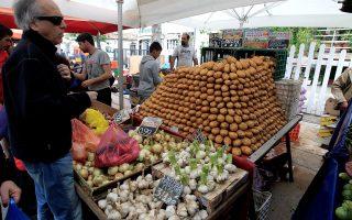 Η μεγαλύτερη αύξηση τιμών ήταν στις πατάτες (18,6%).