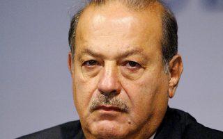 Στη λίστα των μεγαλύτερων χαμένων εντοπίζεται ο Μεξικανός μεγιστάνας τηλεπικοινωνιών Κάρλος Σλιμ.