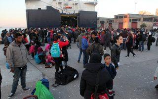 Η ιστοσελίδα για κινητά τηλέφωνα firstcontact δίνει τις πρώτες πληροφορίες σε πρόσφυγες και μετανάστες που φθάνουν στα νησιά.