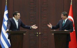 Κατόπιν συμφωνίας των πρωθυπουργών Αλέξη Τσίπρα και Αχμέτ Νταβούτογλου, οι δύο κυβερνήσεις θέλουν να επιταχύνουν τις διαπραγματεύσεις.