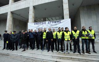 Στη ΓΑΔΑ μαζεύτηκαν οι αστυνομικοί το πρωί της Παρασκευής - Χρήστος Μπόνης/ EUROKINISSI