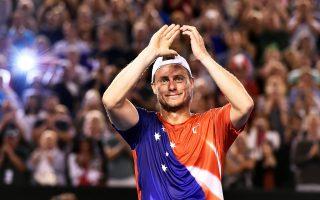 Σε ηλικία 34 ετών, στο τουρνουά της πατρίδας του, ο Αυστραλός Λέιτον Χιούιτ αποχαιρέτησε τον κόσμο του επαγγελματικού τένις.
