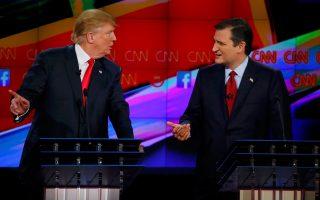Η αντιπαλότητα μεταξύ τους είναι έντονη, καθώς και οι δύο καταλαμβάνουν τον ίδιο πολιτικό χώρο και εμφανίζονται ως άνθρωποι χωρίς ρίζες στην Ουάσιγκτον.