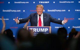 Ολο και ισχυρότερος εμφανίζεται ο δισεκατομμυριούχος Ντόναλντ Τραμπ, ο υποψήφιος για το προεδρικό χρίσμα του Ρεπουμπλικανικού Κόμματος.