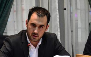 Ο υφυπουργός Οικονομίας, αρμόδιος για θέματα ΕΣΠΑ, Αλέξης Χαρίτσης.