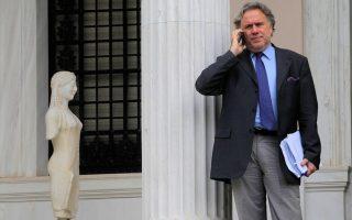 Ο κ. Γιώργος Κατρούγκαλος εισέρχεται στη σημερινή συνάντηση αποφασισμένος να μείνει εντός της κυβερνητικής «κόκκινης γραμμής».
