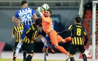 Η ΑΕΚ νίκησε 1-0 τον Ηρακλή στη Θεσσαλονίκη και πέρασε πανηγυρικά στους ημιτελικούς του Κυπέλλου.