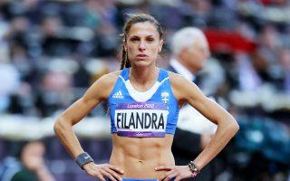 Η Ελενα Φιλάνδρα έχει ως στόχο να πιάσει τα όρια για το παγκόσμιο πρωτάθλημα του κλειστού.