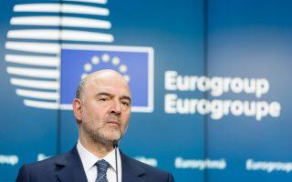 O αρμόδιος επίτροπος Οικονομικών Υποθέσεων Π. Μοσκοβισί δεν μπόρεσε να δώσει απάντηση σχετικά με το πότε θα επιστρέψουν οι εκπρόσωποι των θεσμών στην Αθήνα.