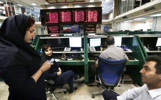 Oι συναλλαγές από ξένους στο Χρηματιστήριο της Τεχεράνης δεκαπλασιάσθηκαν στις λίγες εβδομάδες που έχουν μεσολαβήσει από την άρση των κυρώσεων τον περασμένο μήνα. Ανέρχονται, έτσι, σε 500 δισ. ριάλ, ποσό αντίστοιχο των 16,6 εκατ. δολαρίων.