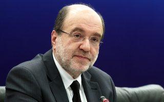Ο αναπληρωτής υπουργός Οικονομικών Τρύφων Αλεξιάδης.