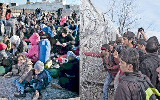 Στον Πειραιά  φθάνουν από τα νησιά του Αιγαίου συνεχώς νέοι πρόσφυγες, ενώ στην Ειδομένη συγκεντρώνονται όλο και περισσότεροι εγκλωβισμένοι που προσπαθούν να σπάσουν τα συρματοπλέγματα της ΠΓΔΜ.