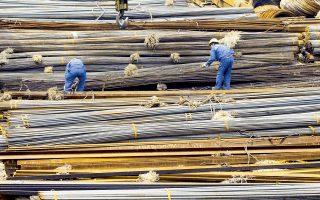 Η είδηση ότι ανακάμπτει η βιομηχανία χάλυβα της Κίνας αναθέρμανε τις προσδοκίες για αύξηση της ζήτησης για μέταλλα.