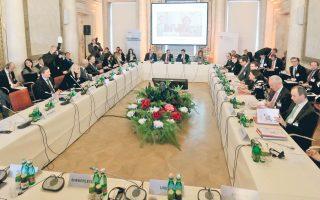 Στο κοινό ανακοινωθέν της συνόδου της Βιέννης δεν υπήρξαν ευθείες αναφορές σε κλείσιμο συνόρων.