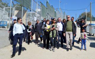 Ο κ. Filippo Grandi κατά την επίσκεψή του στη Λέσβο ενημερώθηκε για την κατάσταση που επικρατεί στο νησί.