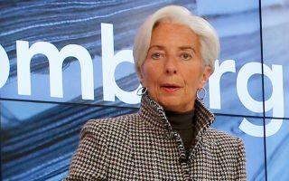 Την επιβολή φόρου στις πωλήσεις είχε προτείνει και  η επικεφαλής του ΔΝΤ Κριστίν Λαγκάρντ.