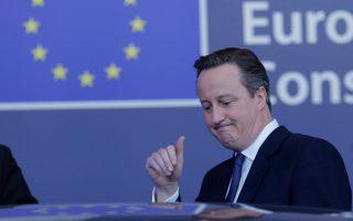 Για σημαντική επιτυχία έκανε λόγο ο Ντέιβιντ Κάμερον, που προτίθεται τώρα να εκστρατεύσει «ολόψυχα» υπέρ του «Ναι» στο δημοψήφισμα με θέμα την παραμονή της χώρας στην Ε.Ε.