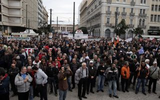 Ενα άλλο κοινό σημείο μεταξύ Σαμαρά - Τσίπρα ήταν οι διαδηλώσεις.