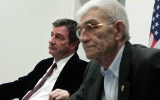 Ο Δήμαρχος Θεσσαλονίκης κ. Γιάννης Μπουτάρης και ο Δήμαρχος Αθηναίων κ. Γιώργος Καμίνης.