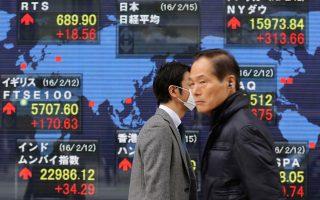H μεγάλη άνοδος του δείκτη Nikkei στο Τόκιο, κατά 7,16%, διαμόρφωσε από το πρωί της Δευτέρας θετικό κλίμα στα ευρωπαϊκά χρηματιστήρια.